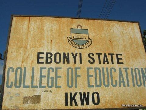 Ebonyi State College of Education Ikwo
