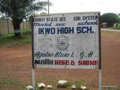 Ikwo High School_Agubia Ikwo_School Signboard_Ikwo_1
