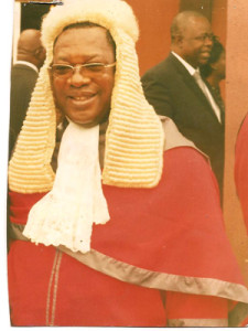 Justice O'Connell Ogbonna President of Ebonyi State Customary Court of Appeal