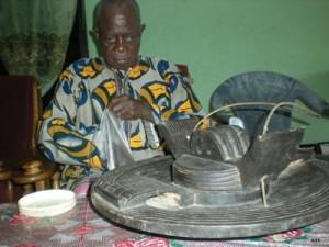 Ezeogo of Owutu Edda, HRH Okorie Orji Uzor. Owutu is one of the village groups that make up Edda